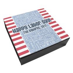 Labor Day Leatherette Keepsake Box - 3 Sizes (Personalized)