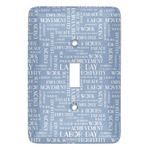 Labor Day Light Switch Covers (Personalized)