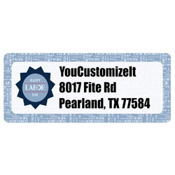 Labor Day Return Address Labels (Personalized)
