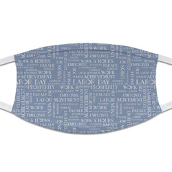 Labor Day Cloth Face Mask (T-Shirt Fabric) (Personalized)