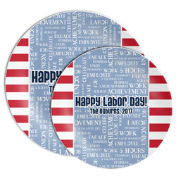 Labor Day Melamine Plate (Personalized)