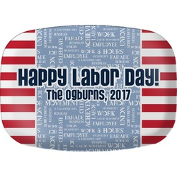 Labor Day Melamine Platter (Personalized)