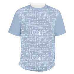 Labor Day Men's Crew T-Shirt (Personalized)