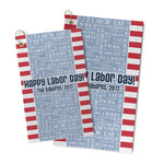 Labor Day Microfiber Golf Towel (Personalized)
