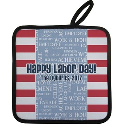 Labor Day Pot Holder (Personalized)