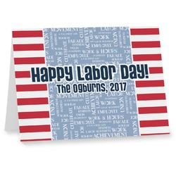 Labor Day Note cards (Personalized)