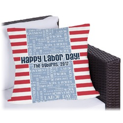 Labor Day Outdoor Pillow (Personalized)