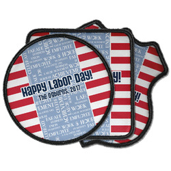 Labor Day Iron on Patches (Personalized)