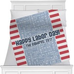 Labor Day Minky Blanket (Personalized)