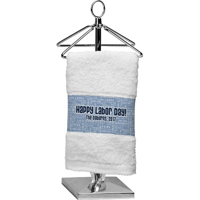 Labor Day Finger Tip Towel (Personalized)