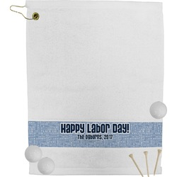 Labor Day Golf Towel (Personalized)