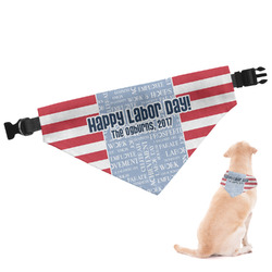 Labor Day Dog Bandana (Personalized)