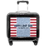 Labor Day Pilot / Flight Suitcase (Personalized)