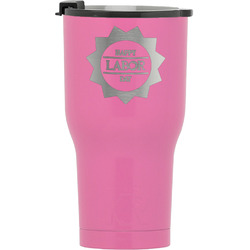 Labor Day RTIC Tumbler - Pink (Personalized)