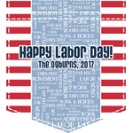 Labor Day Iron On Faux Pocket (Personalized)