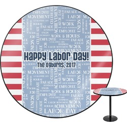 Labor Day Round Table (Personalized)