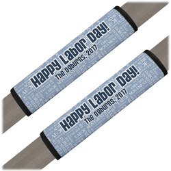 Labor Day Seat Belt Covers (Set of 2) (Personalized)