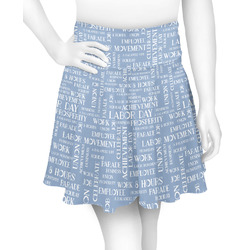 Labor Day Skater Skirt (Personalized)