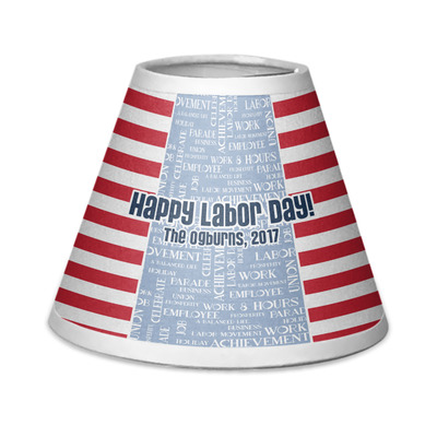 Labor Day Chandelier Lamp Shade (Personalized)