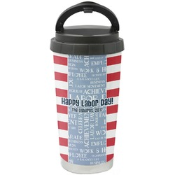Labor Day Stainless Steel Travel Mug (Personalized)