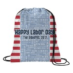 Labor Day Drawstring Backpack (Personalized)