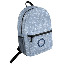 Labor Day Student Backpack (Personalized)