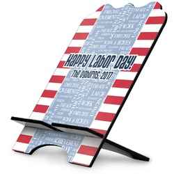 Labor Day Stylized Tablet Stand (Personalized)