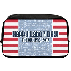 Labor Day Toiletry Bag / Dopp Kit (Personalized)