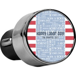 Labor Day USB Car Charger (Personalized)