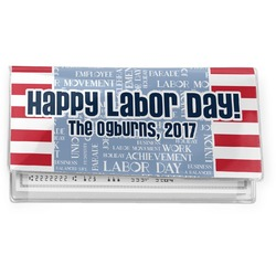Labor Day Vinyl Checkbook Cover (Personalized)