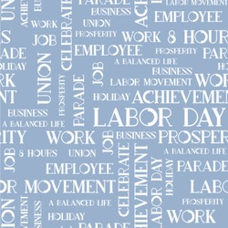 """Labor Day Wallpaper & Surface Covering (Peel & Stick 24""""x 24"""" Sample)"""
