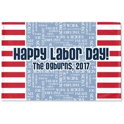 Labor Day Woven Mat (Personalized)