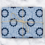 Labor Day Wrapping Paper (Personalized)