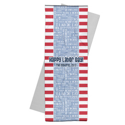 Labor Day Yoga Mat Towel (Personalized)