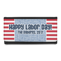 Labor Day Leatherette Ladies Wallet (Personalized)