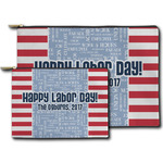 Labor Day Zipper Pouch (Personalized)