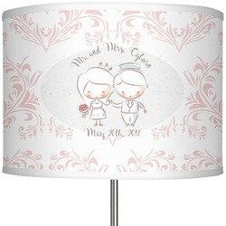 """Wedding People 13"""" Drum Lamp Shade (Personalized)"""