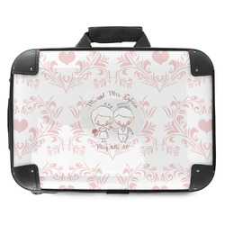 Wedding People Hard Shell Briefcase (Personalized)