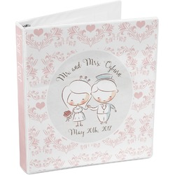Wedding People 3-Ring Binder (Personalized)