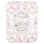 Wedding People Baby Swaddling Blanket (Personalized)