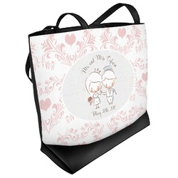Wedding People Beach Tote Bag (Personalized)