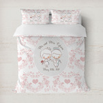 Wedding People Duvet Cover (Personalized)