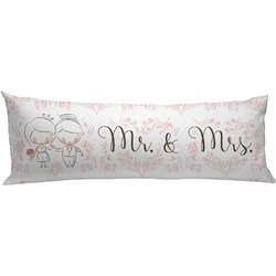Wedding People Body Pillow Case (Personalized)