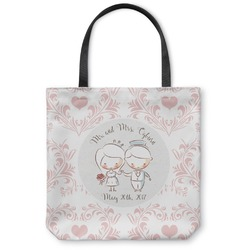 Wedding People Canvas Tote Bag (Personalized)