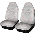 Wedding People Car Seat Covers (Set of Two) (Personalized)