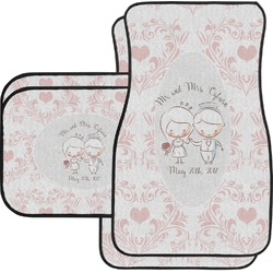 Wedding People Car Floor Mats (Personalized)