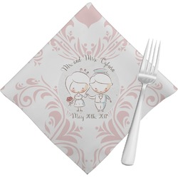 Wedding People Napkins (Set of 4) (Personalized)