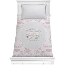 Wedding People Comforter - Twin (Personalized)