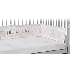 Wedding People Crib Bumper Pads (Personalized)