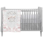 Wedding People Crib Comforter / Quilt (Personalized)